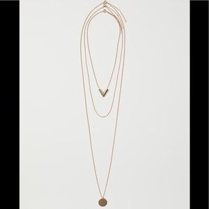 NWT H&M 3 pack necklaces
